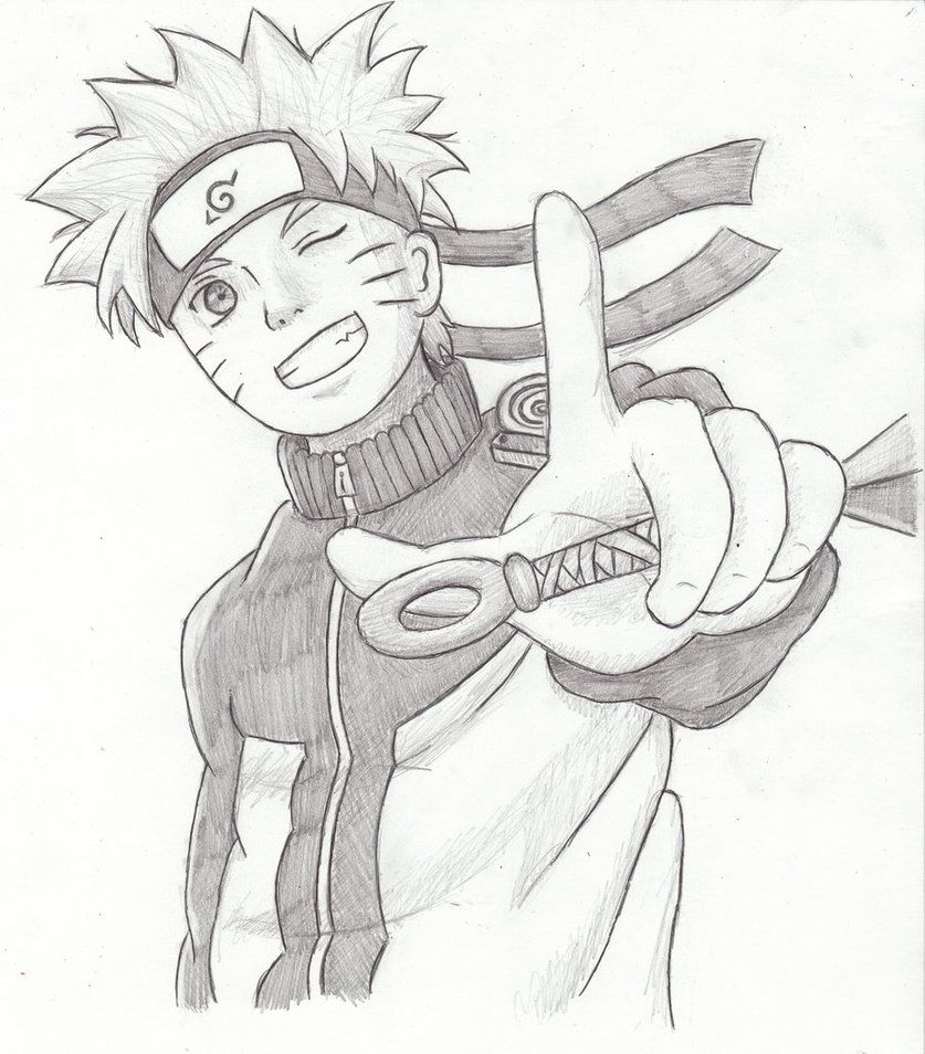 Naruto Drawing I Made With Images Naruto Drawings Naruto