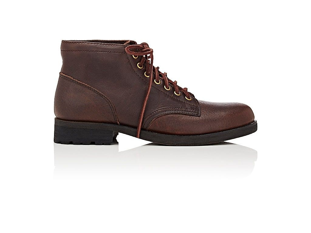 EASTLAND MADE IN MAINE JACKSON 1955 GRAINED LEATHER BOOTS.  #eastlandmadeinmaine #shoes #
