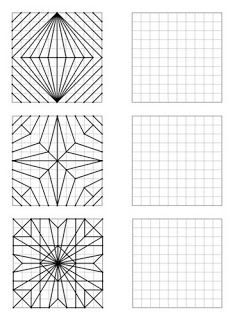 Remue Méninge: Reproduction de figures géométriques | Feuilles de travail d'art, Géométrie ce2 ...