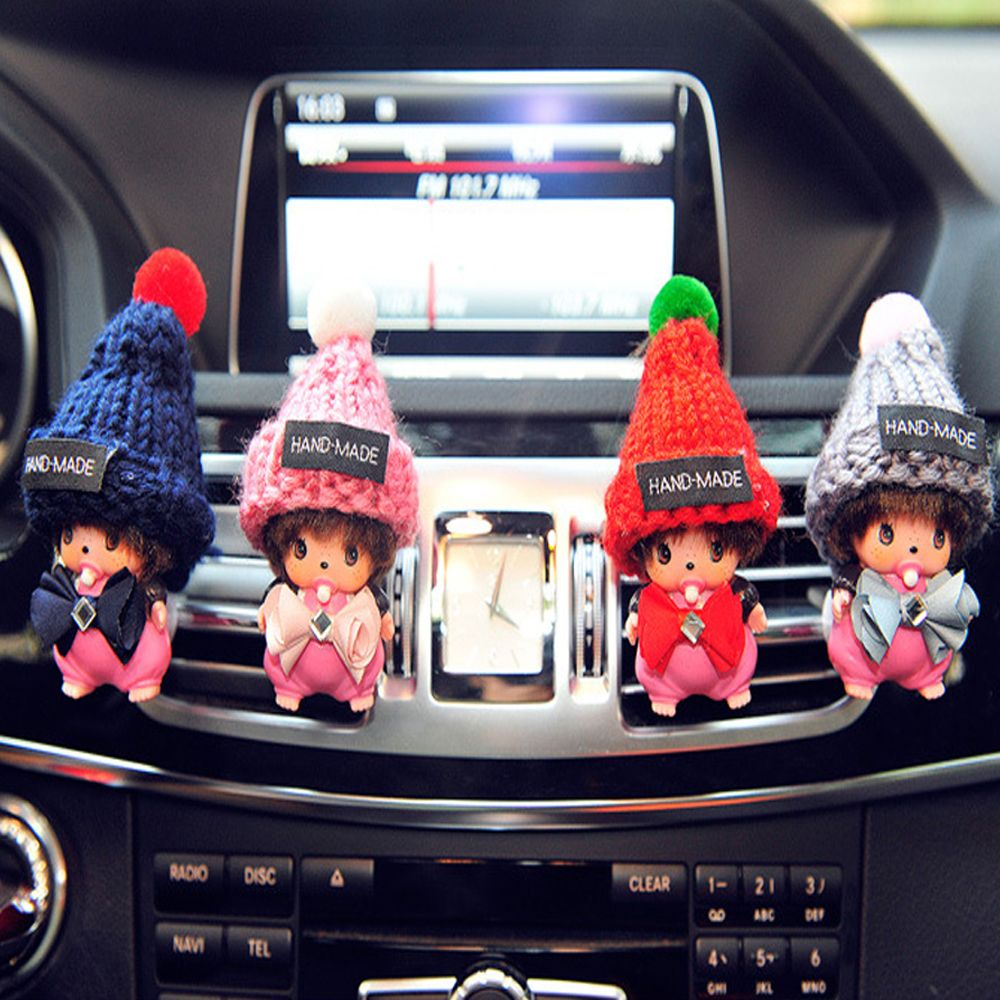 Cartoon car accessories car car air conditioning outlet
