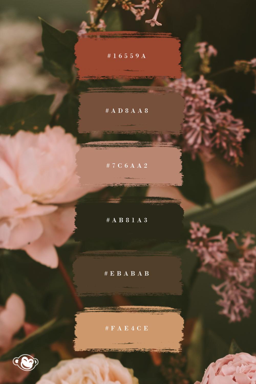 Create a Brand Color Palette | PicMonkey #autumncolorpalette