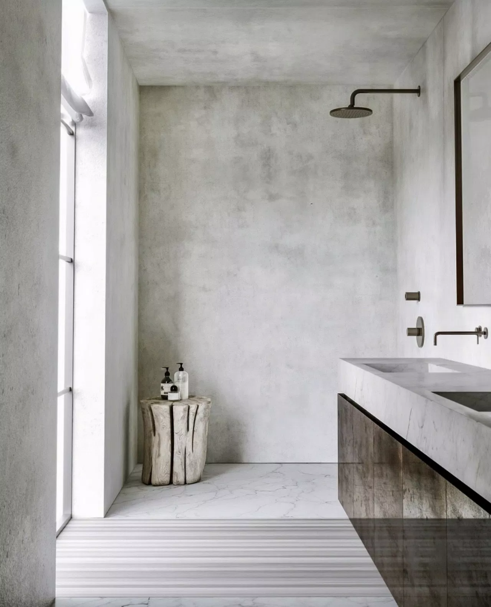 Make Your Bath Look Stylish With These 64 Minimalist Bathroom Design Ideas 4 Bathro Minimalist Bathroom Design Minimalist Bathroom Bathroom Interior Design