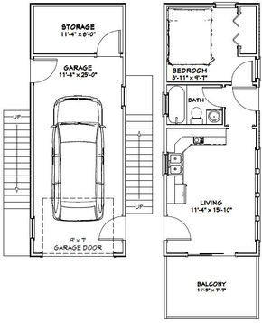 12x32 Tiny House -- #12X32H6G -- 461 sq ft - Excellent Floor