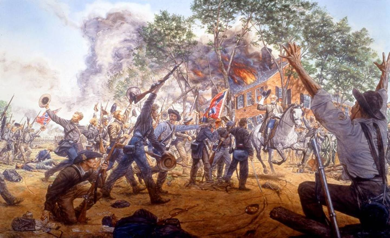 His Supreme Moment 1863 Chancellorsville Mort Kunstler limited edition print