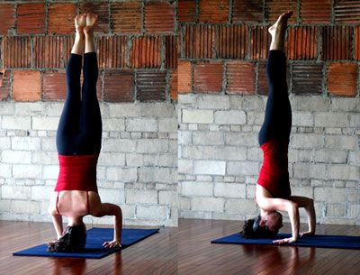 strike a yoga pose tripod headstand  for the love of