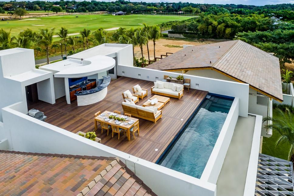 Stunning Swimming Pool Designs Hgtv Com S Ultimate House Hunt Hgtv Rooftop Terrace Design Rooftop Design Roof Terrace Design