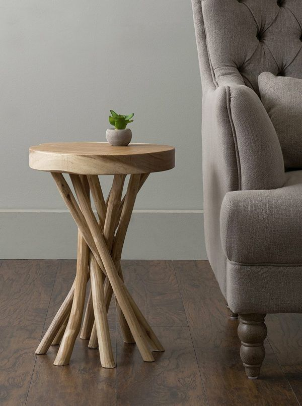 10+ Stunning Round Living Room End Tables