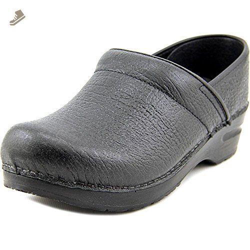 Workwear Clog Open-OB, Sabots Mixte Adulte, Noir-Schwarz (Black 2), Taille 38Sanita