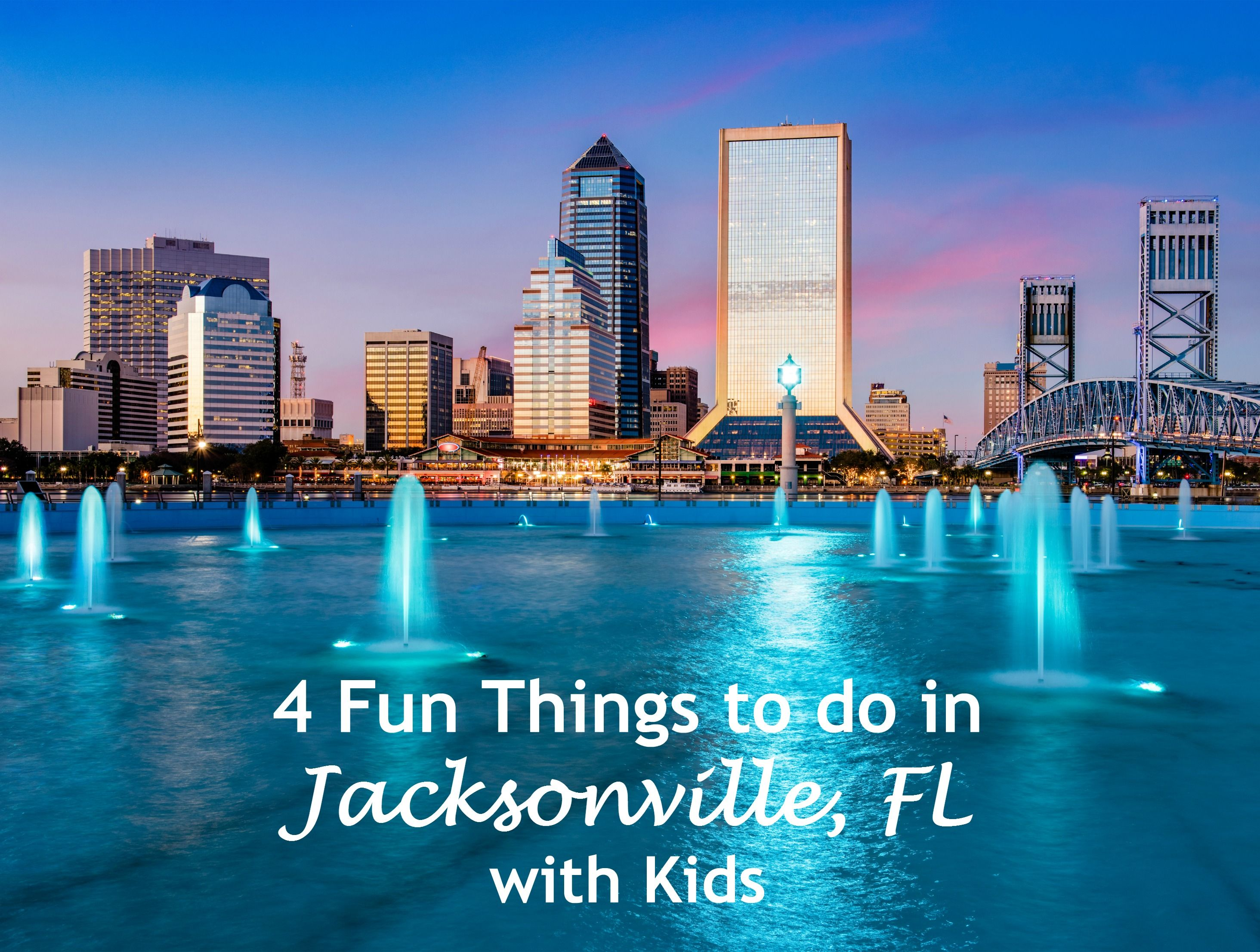 4 Fun Things to do in Jacksonville, FL with Kids Cheap