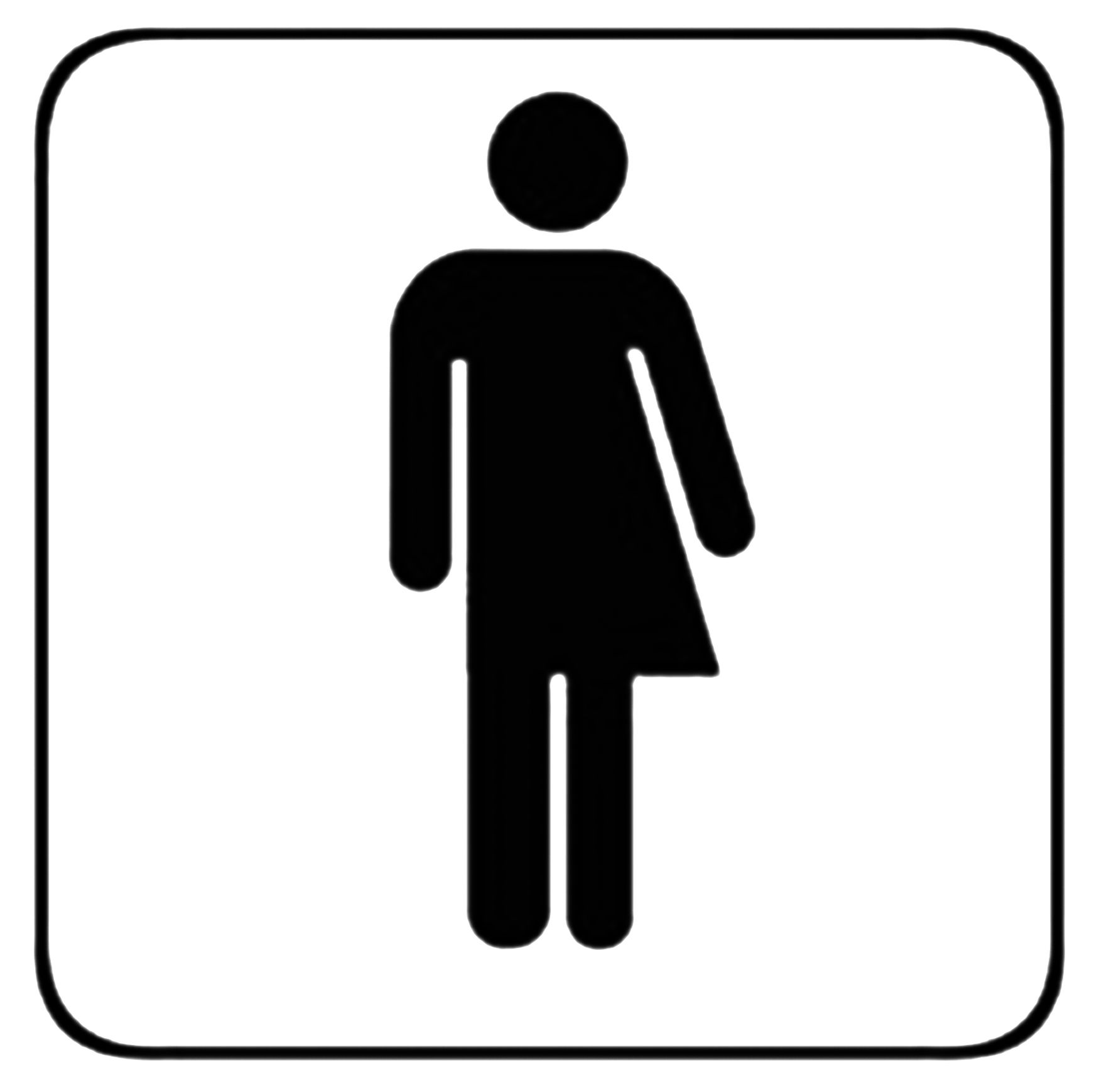 Do Not Bathroom Signs