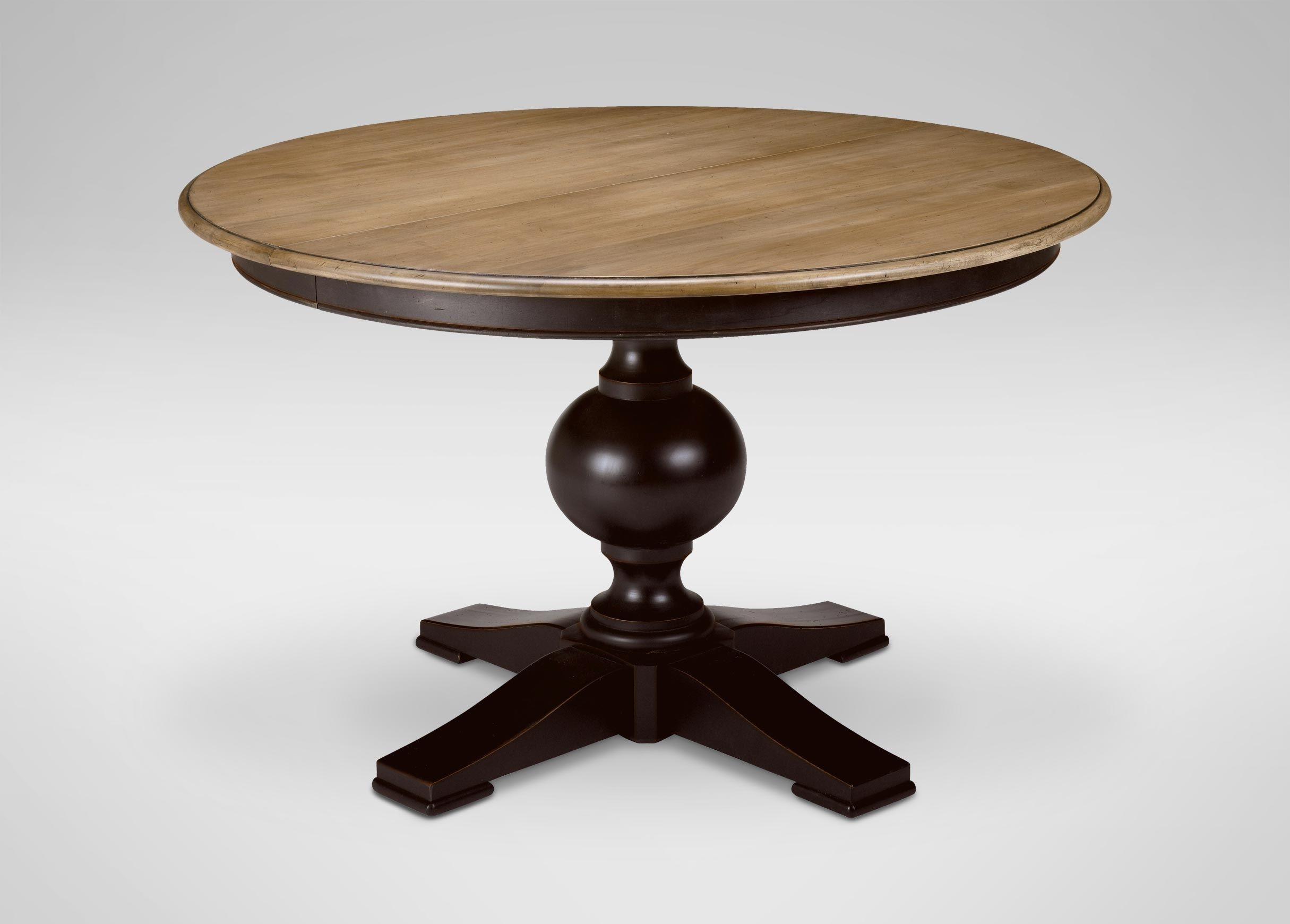 Cooper round dining table ethan allen argharts