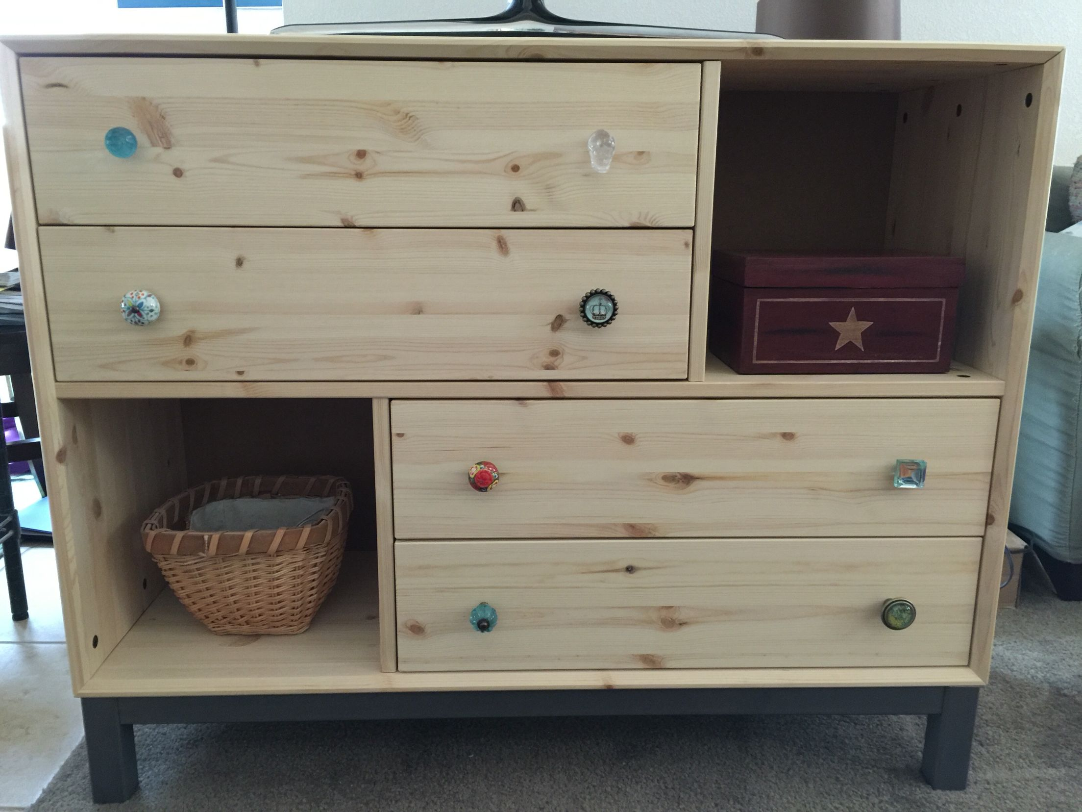 Nornas Ikea Ikea Nornas Chest With Accent Knobs Left Natural For Now