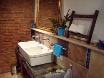 Rustikale Badezimmer doppelwaschbecken ist eine spüle oder as rustikale badezimmer