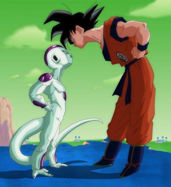 Goku Vs Freezer Hd Art Dragon Ball Z Balle De Dragon Dragon