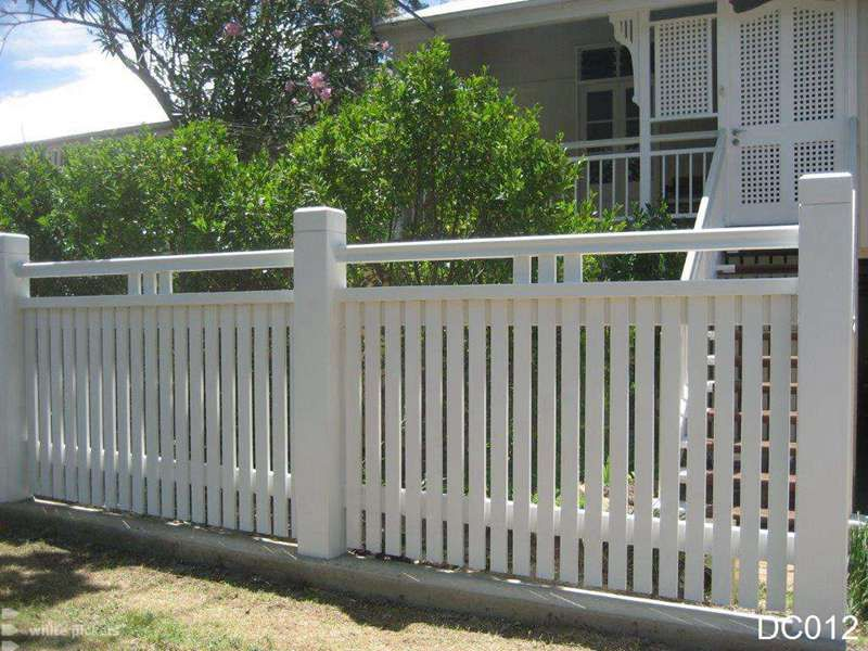 Picket Fences Brisbane Fence Design Front Yard Fence Fence Landscaping