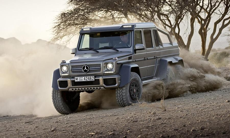 Mercedes Benz Prices The 2015 G63 Amg 6x6 Pickup For Europe G63