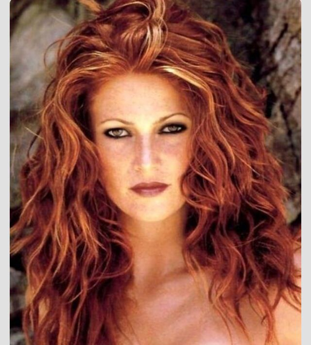 Red Hair With Blonde Highlights Hair Pinterest Red Hair