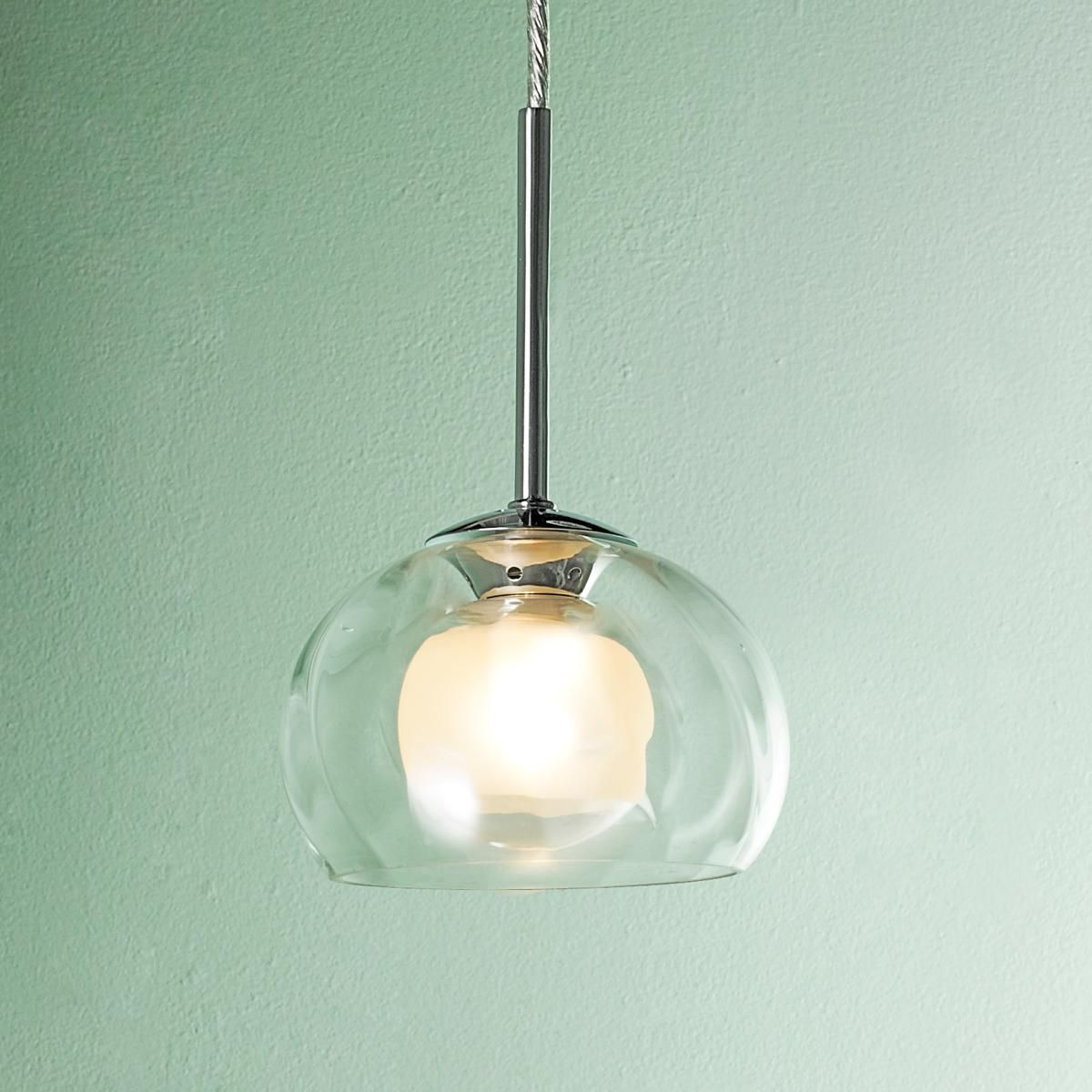 Optic Swirl with Satin Glass Dome Pendant | Shades of Light | $99 ...
