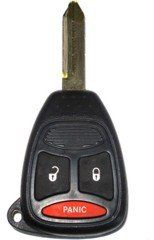 2005 05 Dodge Magnum Remote & Key Combo 3 Button with