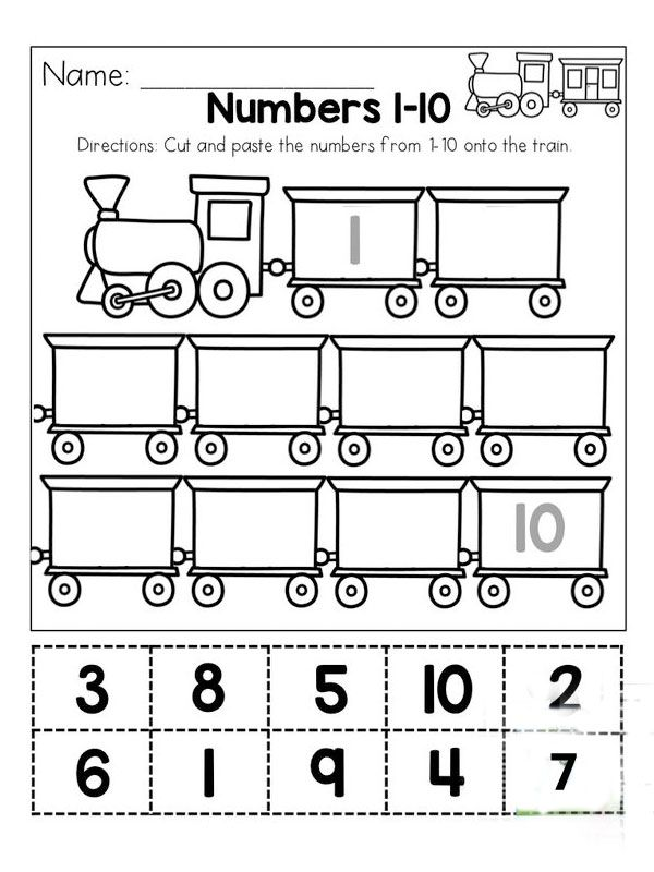 Free Printable before and after number worksheets 1st ...