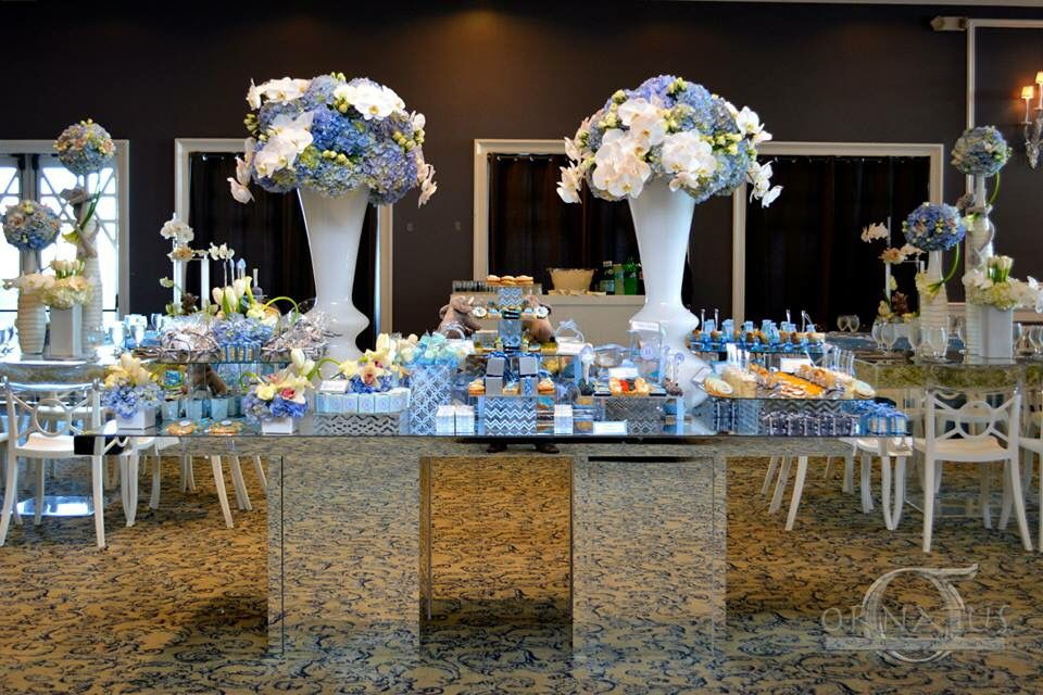 baby blue brit milah baby showers event production passion for decor