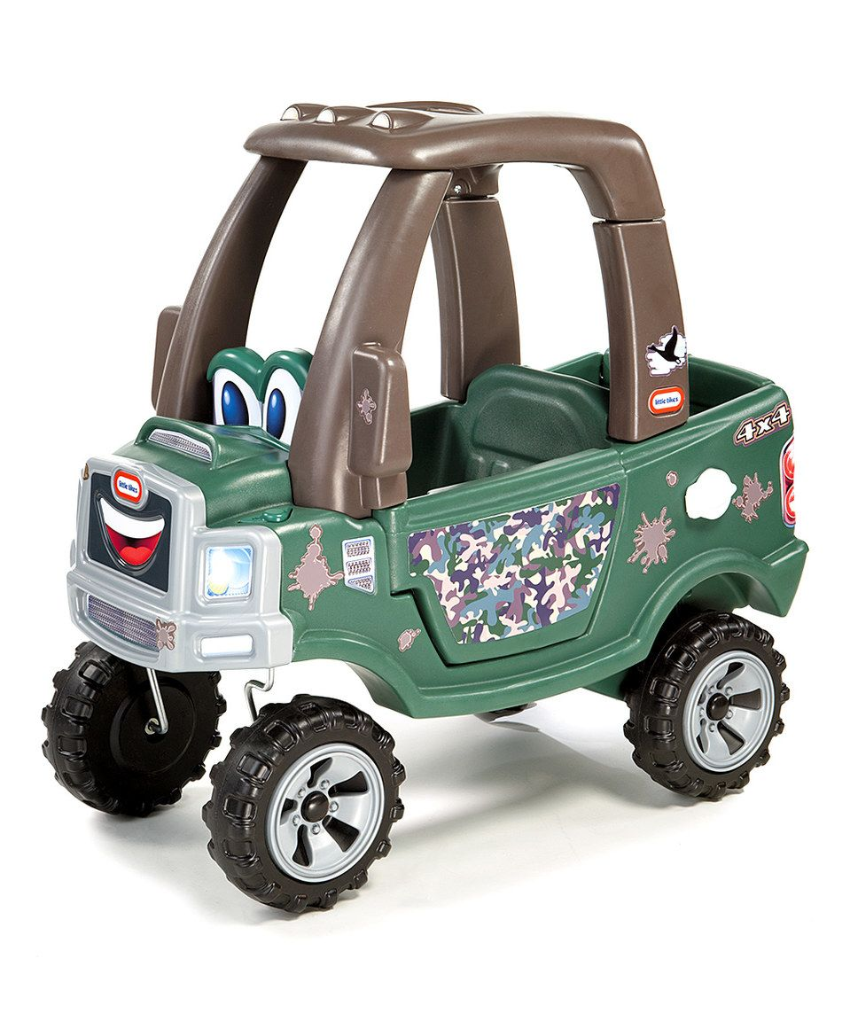 Love this Cozy Camo Truck by Little Tikes on zulily!