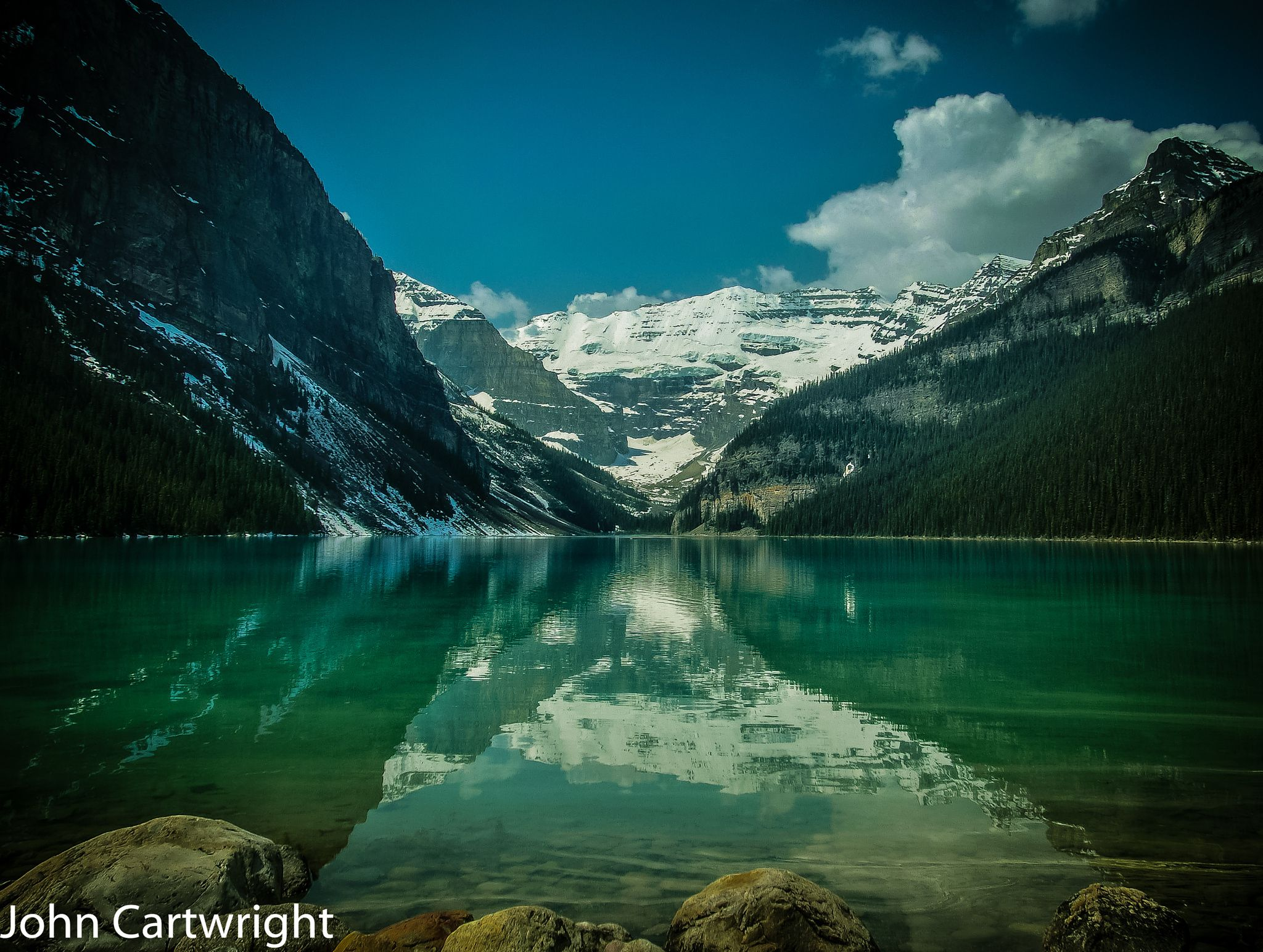 Lake Louise Remembered ( See Description) by John Cartwright on 500px