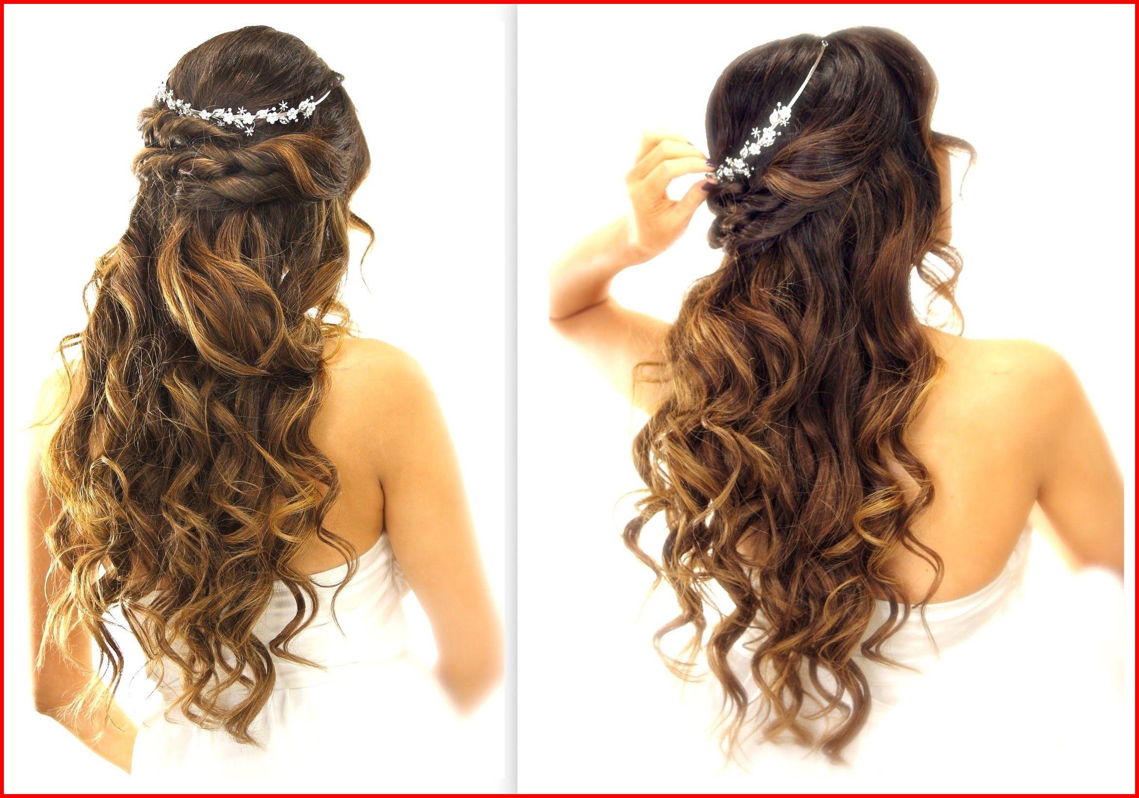 Half up half down hairstyles wedding âu easy wedding half