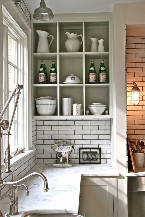 55 open kitchen shelving ideas with closed cabinets kitchen shelves kitchen kitchen marble top on kitchen decor open shelves id=26842