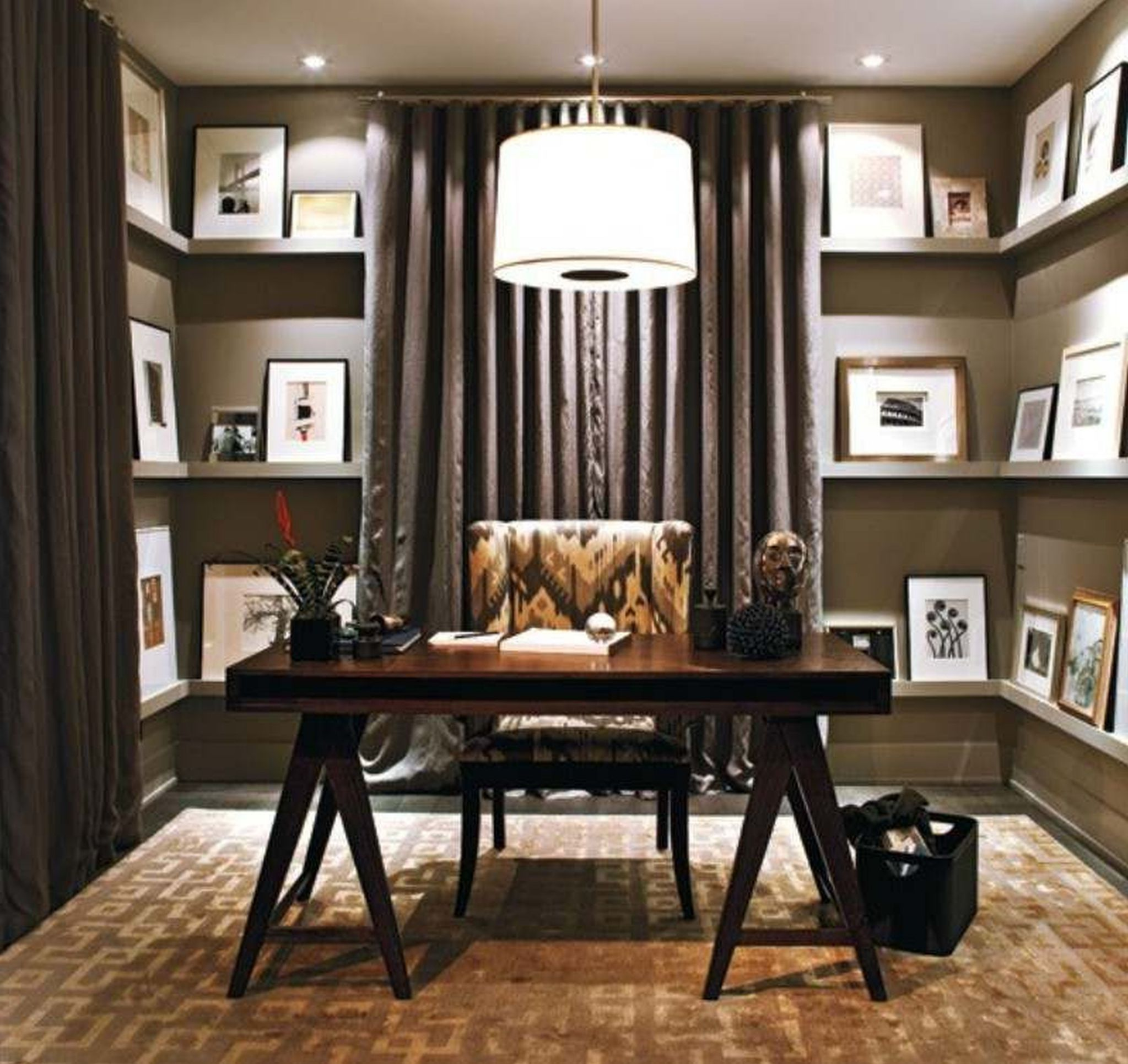 Small Home Office Ideas For Men And Women  Rustic home offices