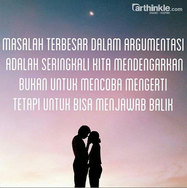 Hubungan Yang Baik Adalah Bisa Saling Mengerti Satu Sama Lain