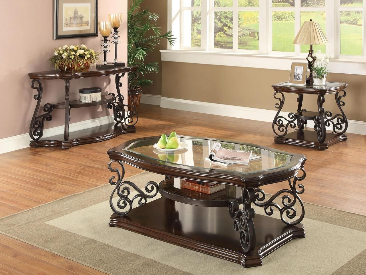 Best Scrollwork Showpiece Occasional Tables With Images 640 x 480