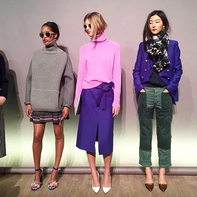 """Looks favoritos en @jcrew #ellemxnyfw #jcrew"""