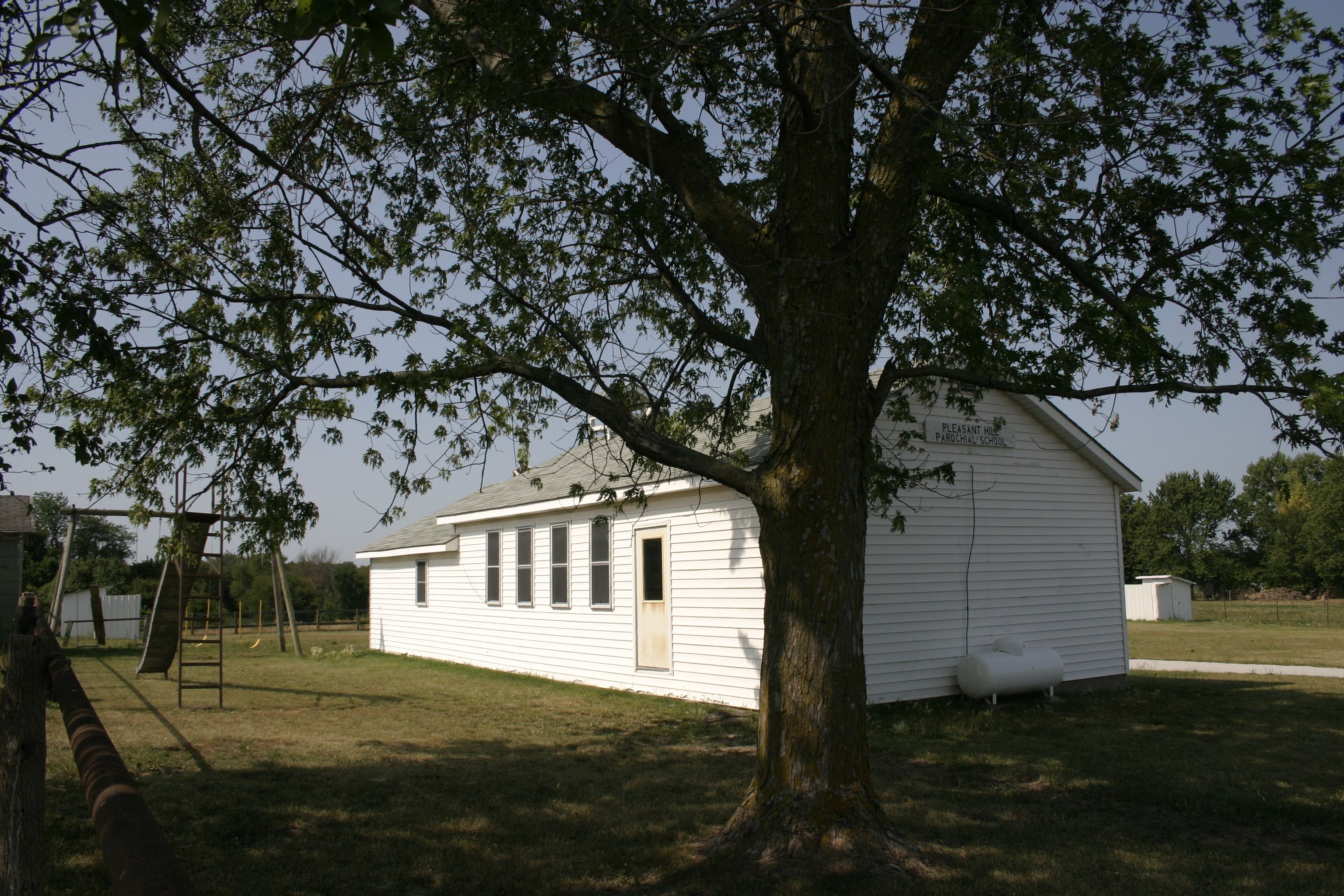 An Amish school in Jamesport MO