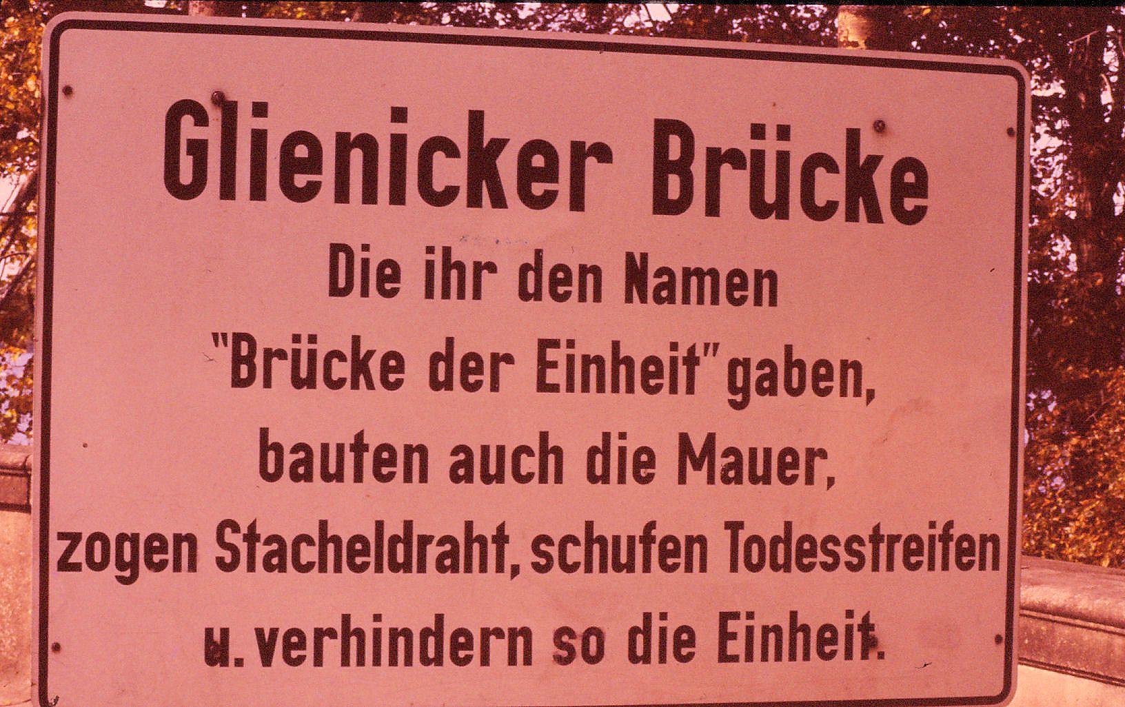 Glienicker Brucke
