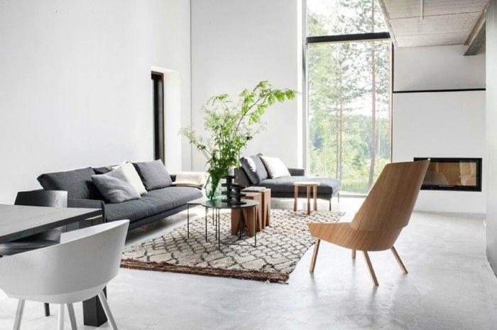Lieblich Wohnzimmer Einrichten Ideen Wohnung Einrichten Ideen Skandinavisches  Wohnzimmer Grau Weis Braun