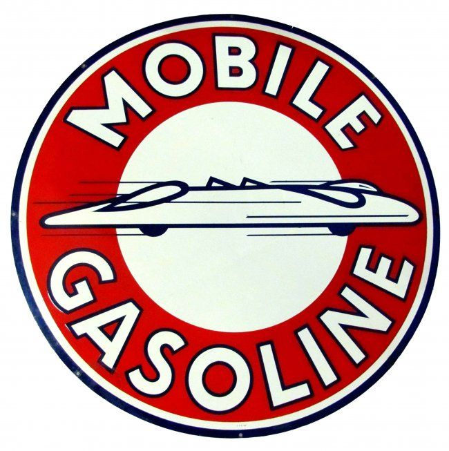 Mobil Gas Gasoline Service Garage Oil Lubrication Retro Style Metal Tin Sign New