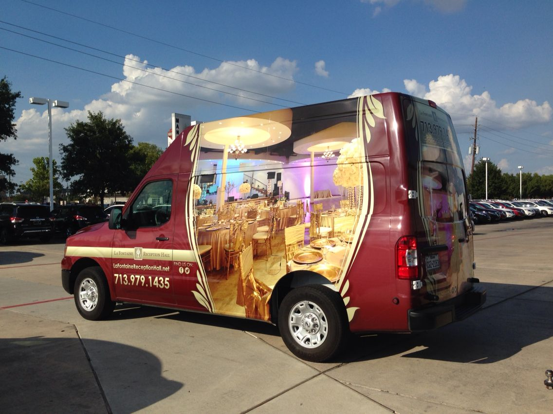 Wedding Bells Commercial van, Vans, Nissan