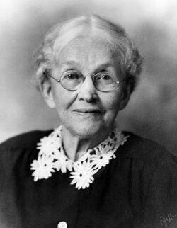 Ida Stover Eisenhower, mother of President Dwight D  Eisenhower