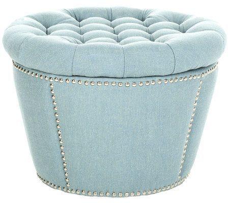 cheap for discount 112fe 55c14 Vanessa Storage Ottoman — QVC.com | Cardboard Furniture in ...