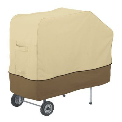 Freeport Park Donahue Grill And Smoker Cover Bbq Cover Classic Accessories Weather Resistant Fabric