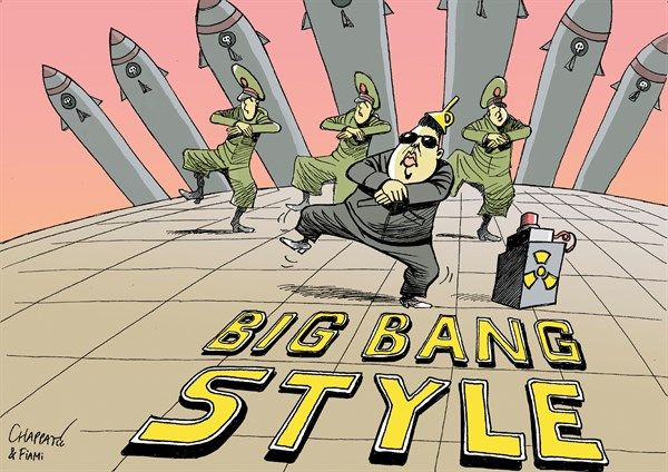 18 Cartoons That Perfectly Sum Up Our Current Rift With ... |Current Political Cartoons North Korea