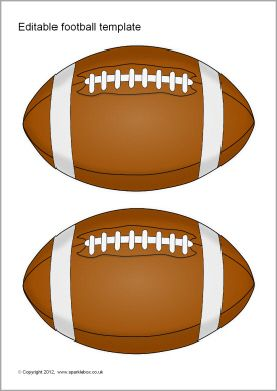 Enterprising image pertaining to printable footballs pictures