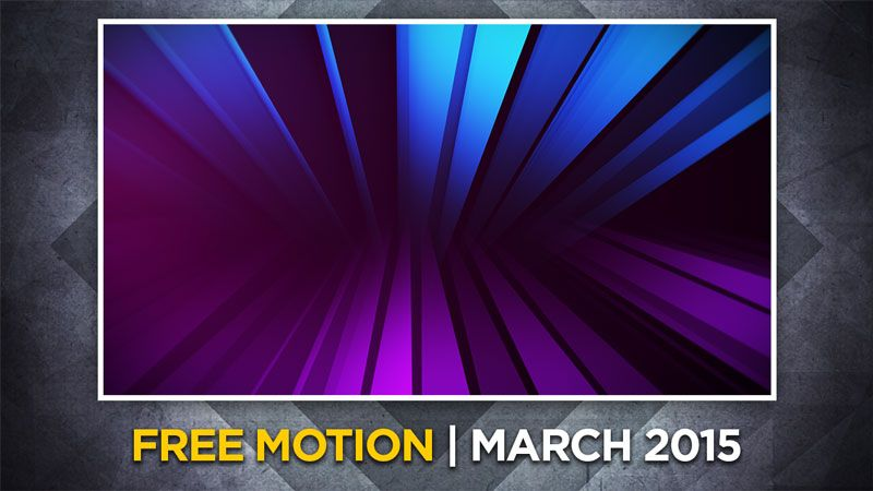 Free CMG Moving Background of the Month for March