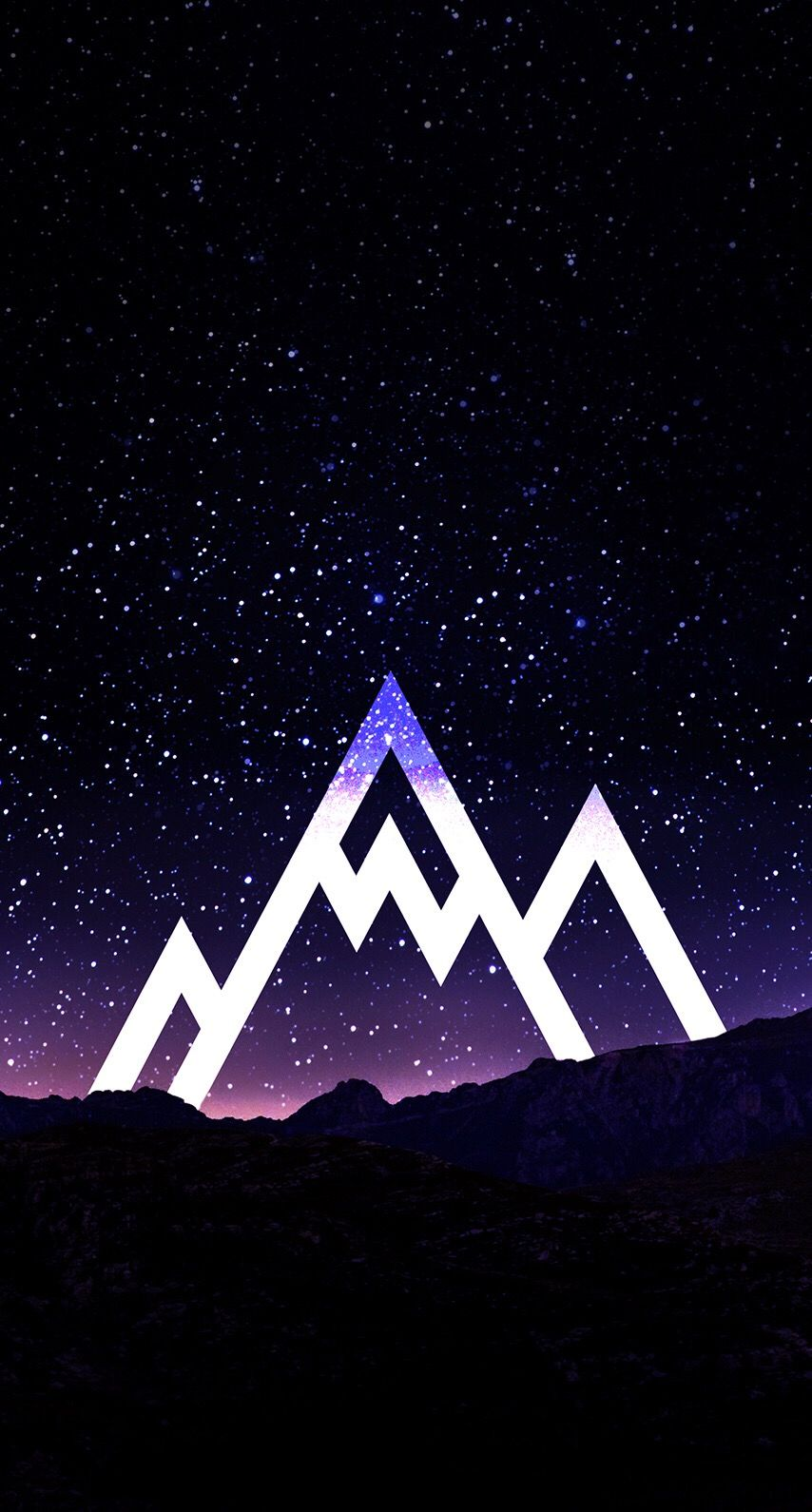 Mountain Space Wallpaper Background In 2019 Iphone