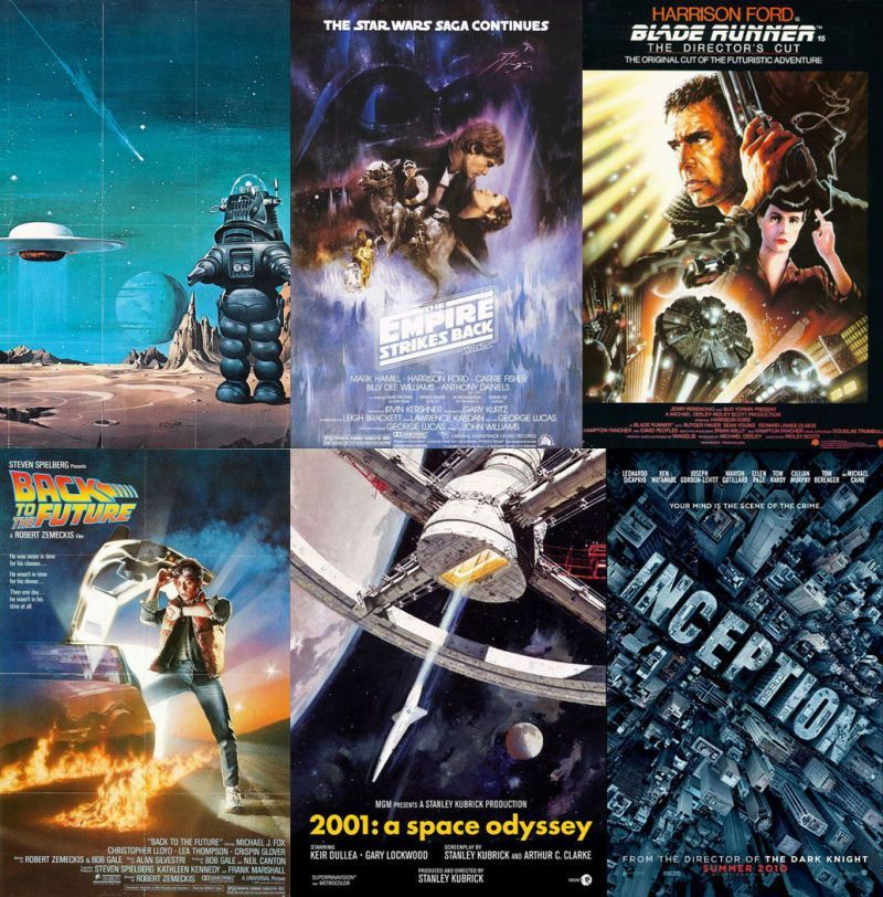 50 Brilliant Science Fiction Movies That Everyone Should See At Least Once  by Charlie Jane Anders
