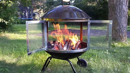 Backyard Creations Fire Pit Ring