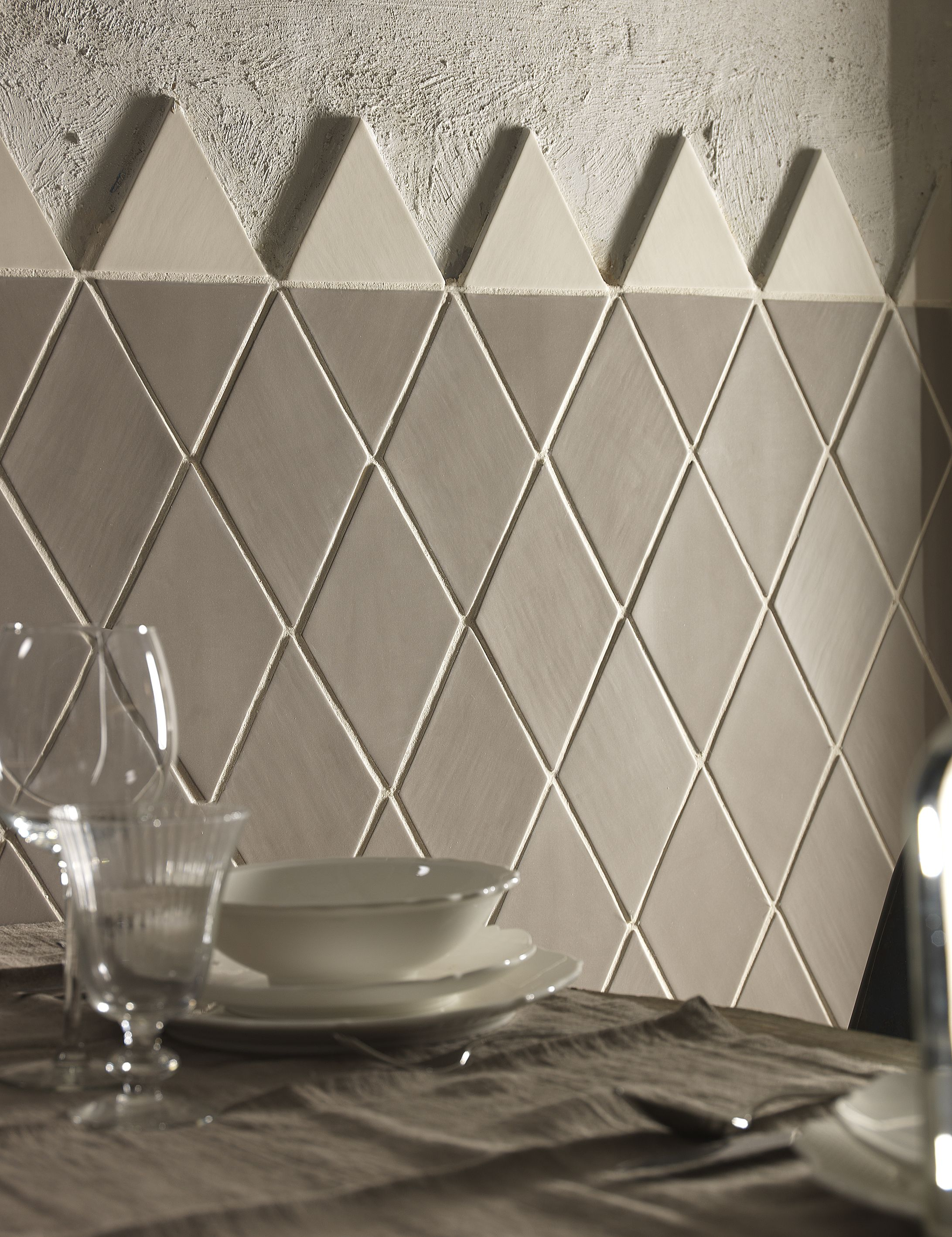 Geomat Represents A New Concept Of Ceramic Covering In Which Shape And Material Merge To Generate Contemporary Products With Diamond Tile Tile Suppliers Tiles