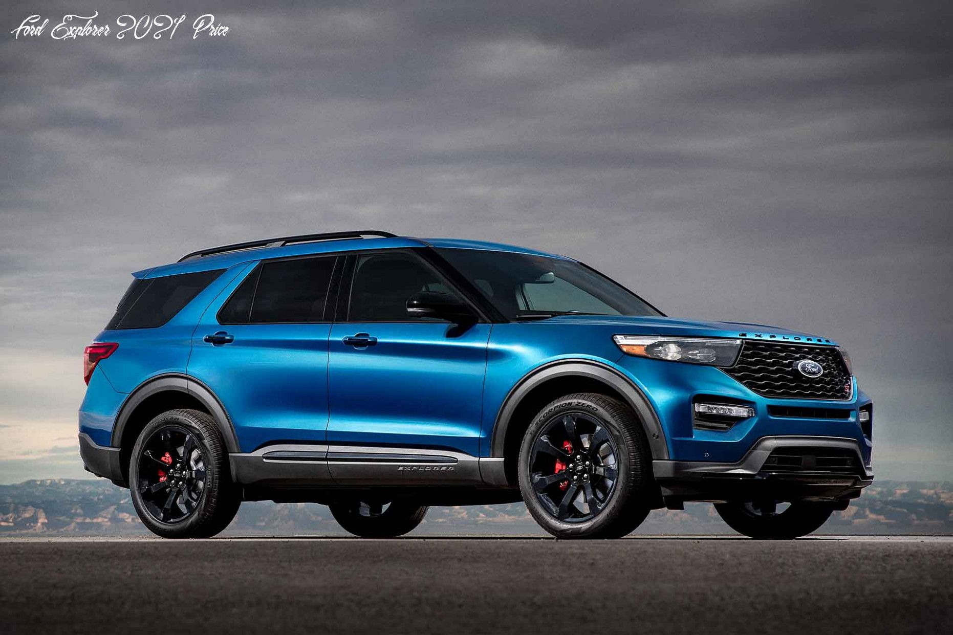 Ford Explorer 2021 Price Interior in 2020 Ford explorer
