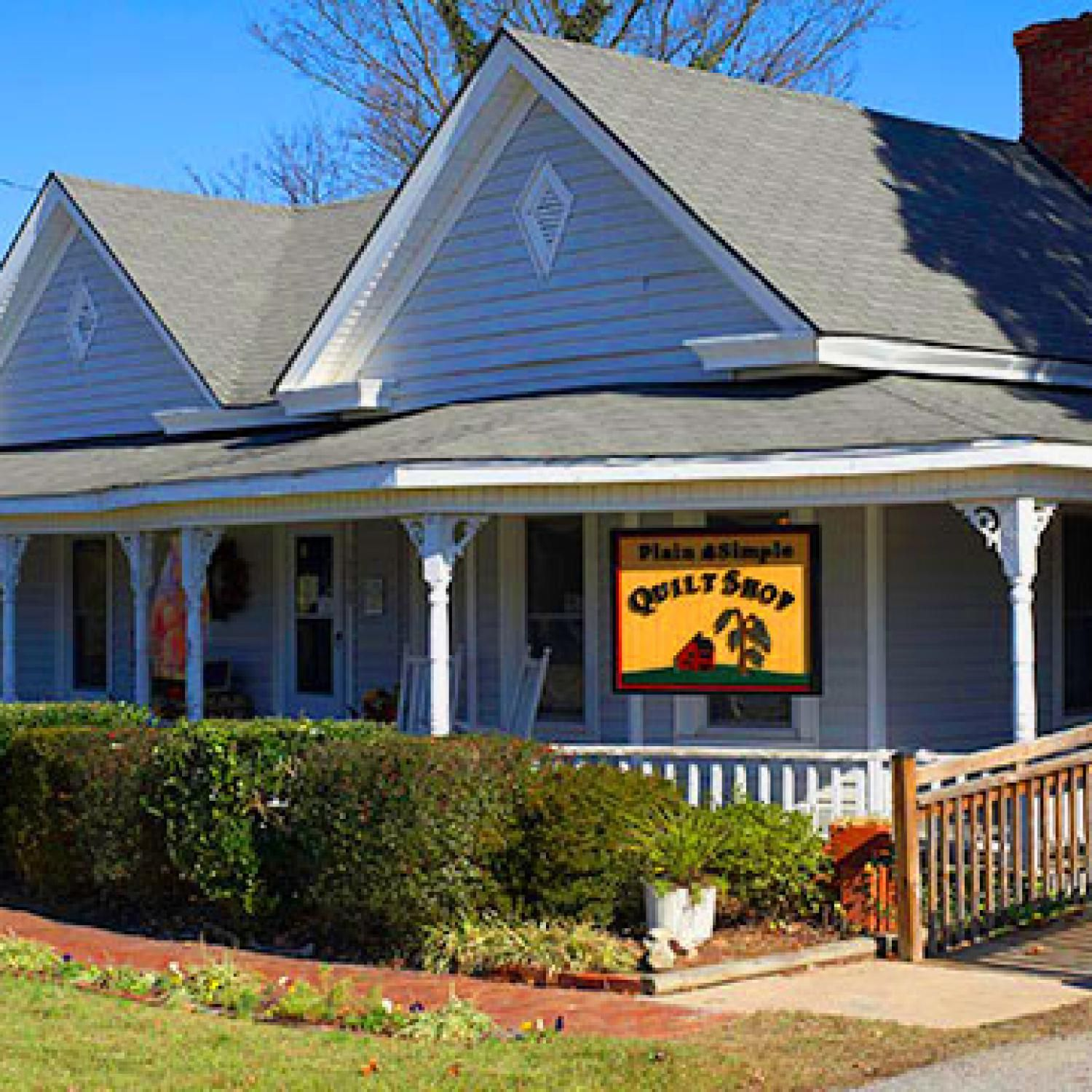 Plain and Simple Quilt Shop is creating a community of quilters in ... : quilt shops in north carolina - Adamdwight.com
